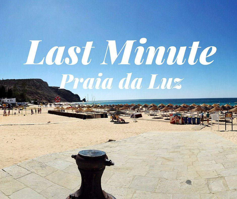 Summer 2016 last minute holiday praia da luz holidays for Week end last minute